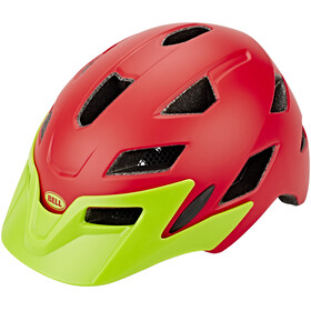 Bell Sidetrack - Casco de bicicleta Niños - rojo